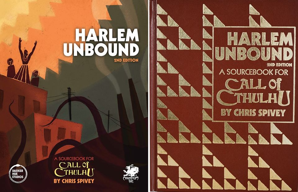 Harlem Unbound Hardcover and Leatherette