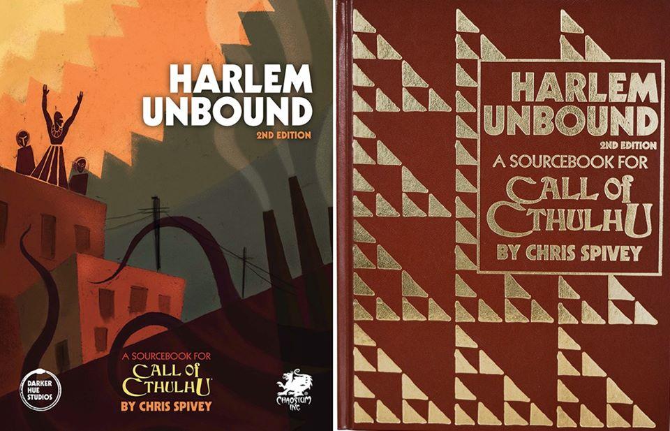 Harlem Unbound Hardback and Leatherette Covers
