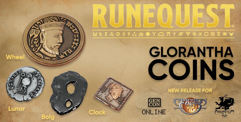 Glorantha Coins - Campaign Coins