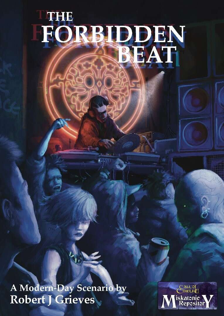 The forbidden beat - Miskatonic Repository title