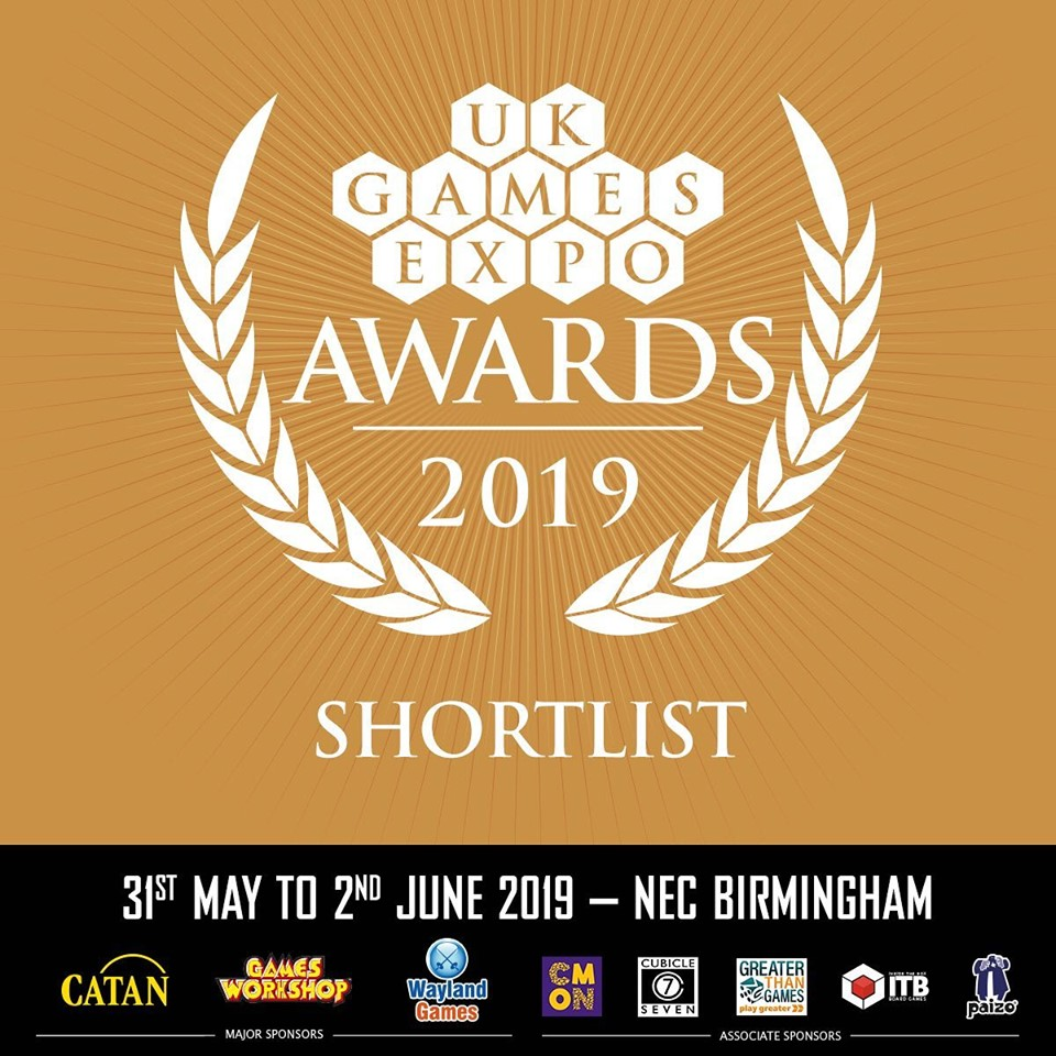 UKGE AWARDS NOMINATIONS