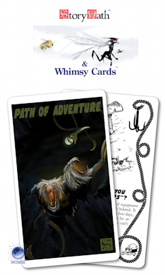 Story Path & Whimsy Card Decks by Stewart Wieck