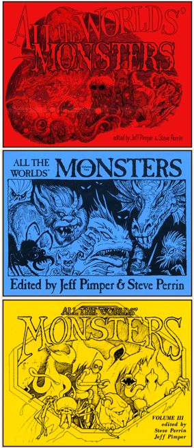 All the Worlds Monsters Vols 1,2,3