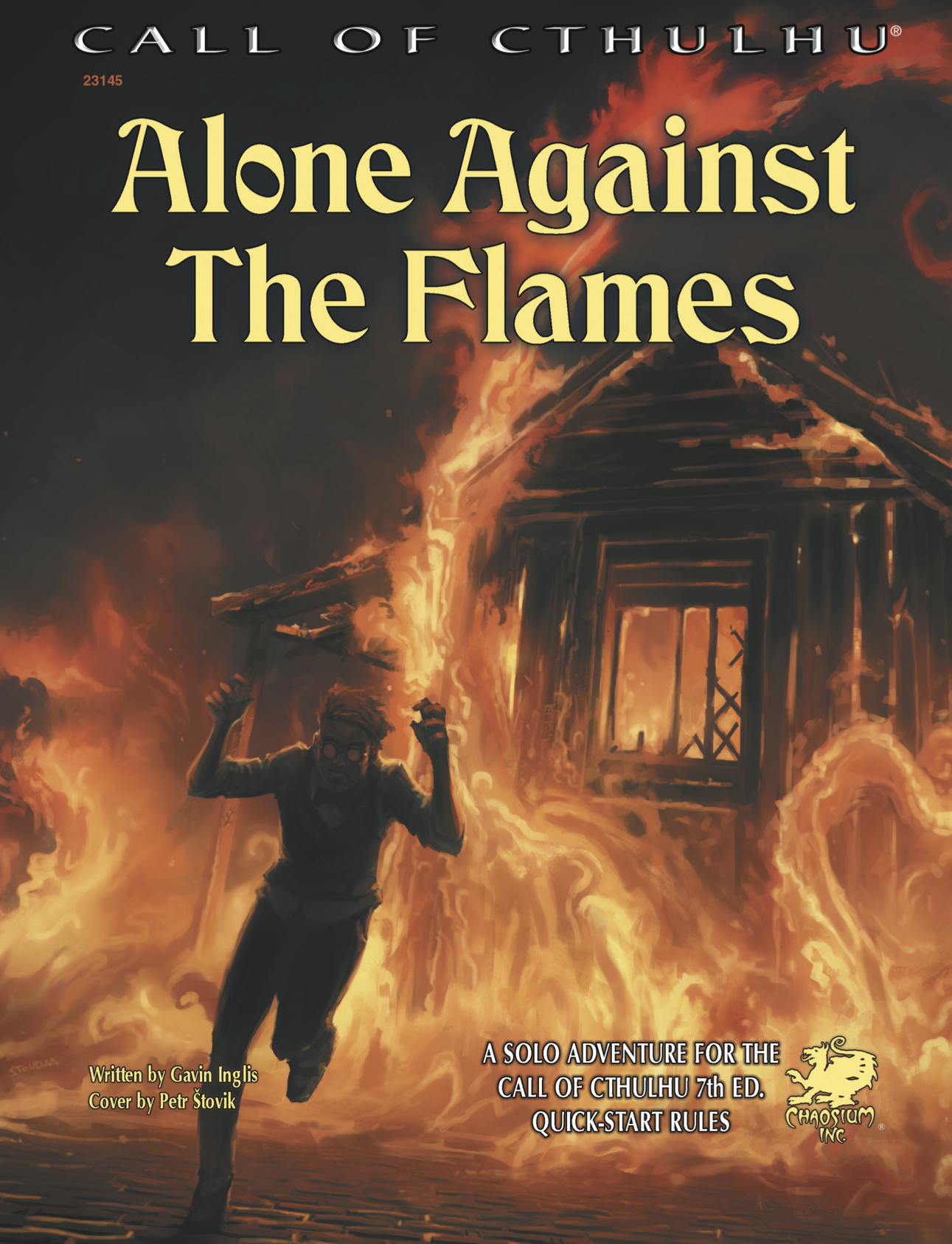 Alone Against the Flames - Chaosium Inc.
