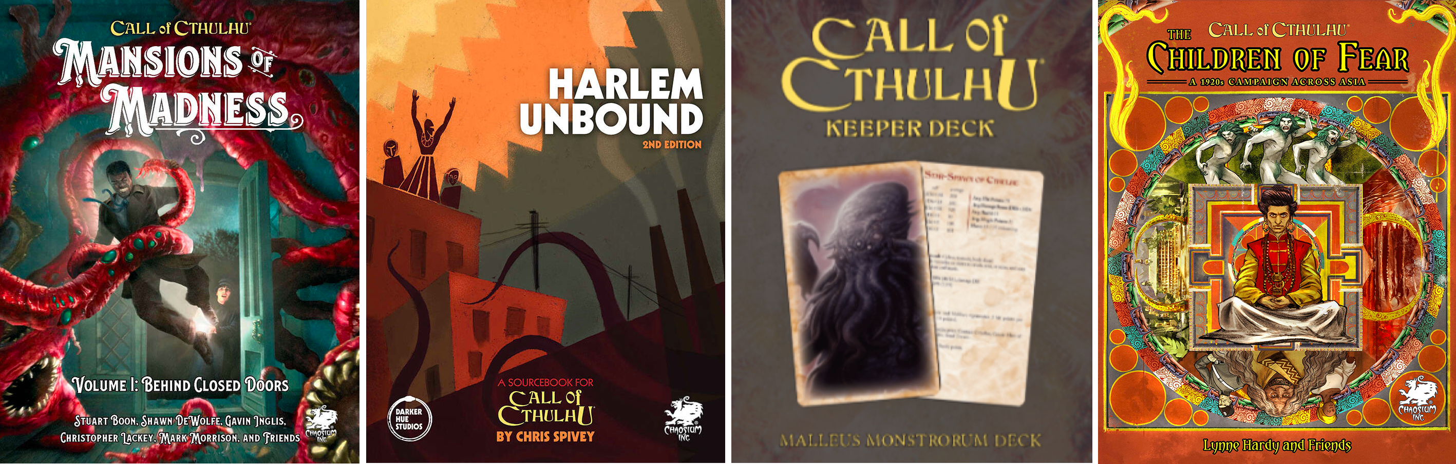 Call of Cthulhu reviewed titles Jan 2021