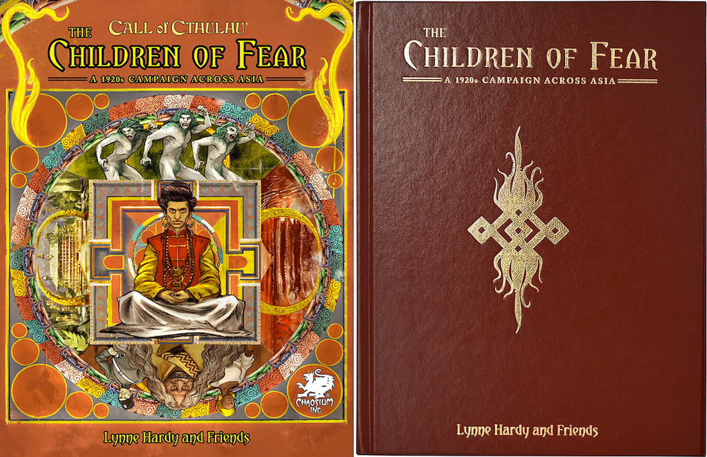 The Children of Fear Covers