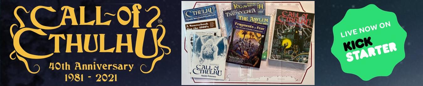 Call of Cthulhu Classic Kickstarter