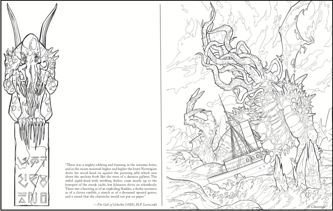 - Staying In? Color In At Home With Chaosium - We've Made Call Of Cthulhu The Coloring  Book A Free Download - Chaosium Inc.