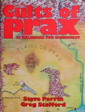 Cults of Prax 2nd printing cover