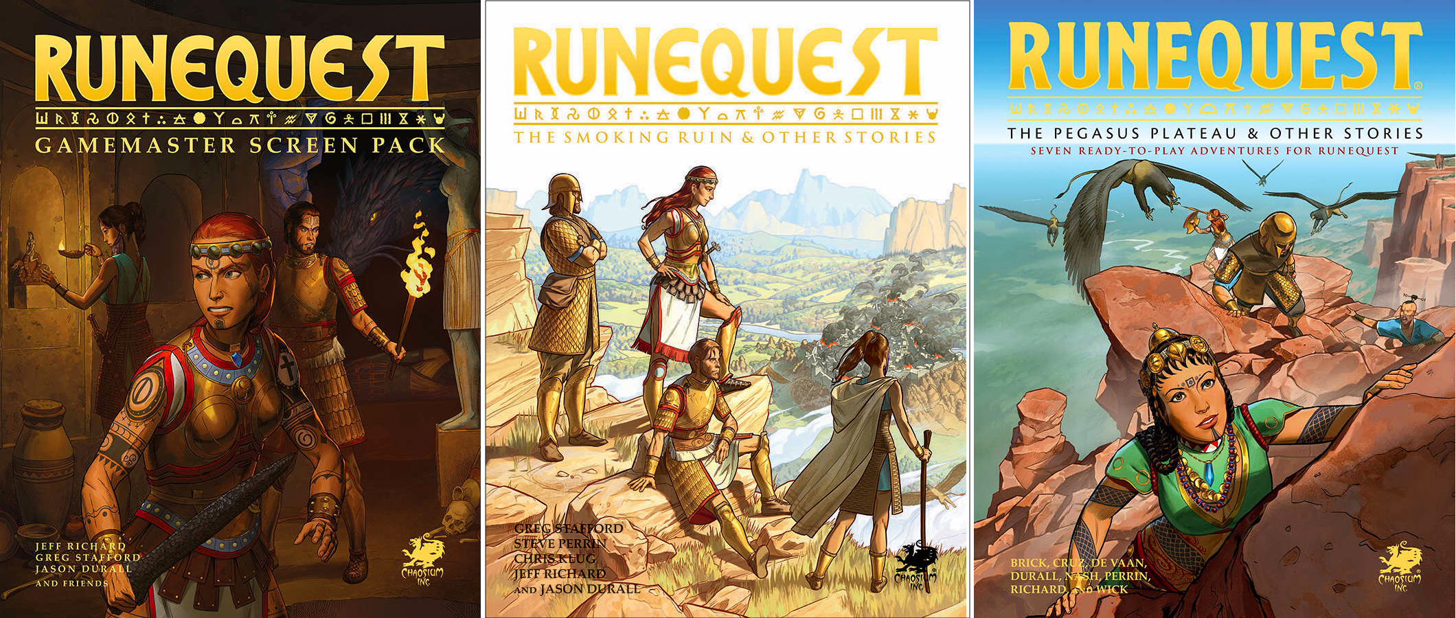 Further Adventures for RuneQuest