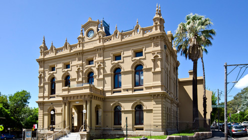Glebe Town Hall - venue for Chaosium Con Down Under
