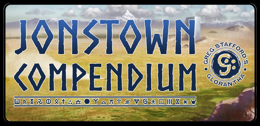 Jonstown Compendium Logo