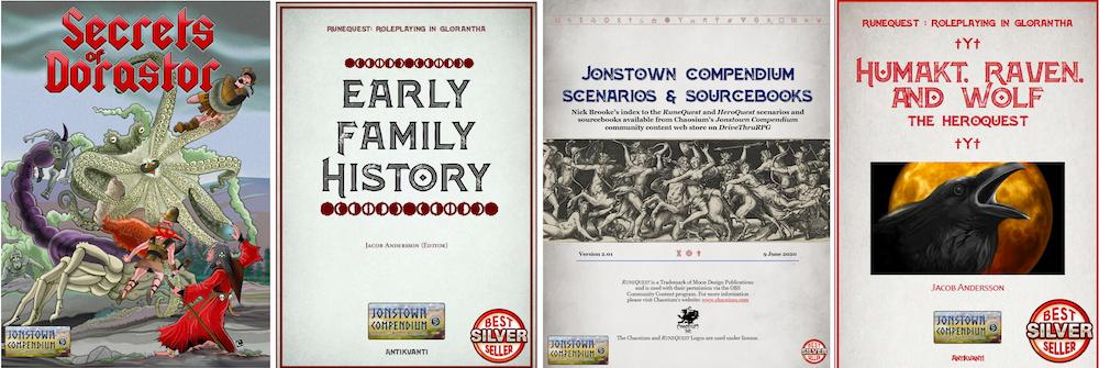 Jonstown Compendium Titles 5