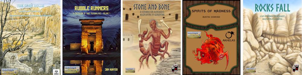Jonstown Compendium Silver Titles 3