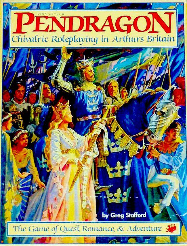 Pendragon 1st ed cover