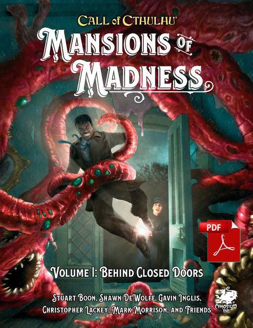 Mansions of Madness cover
