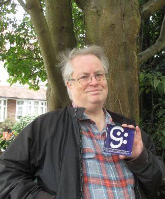 Martin Helsdon with his Award