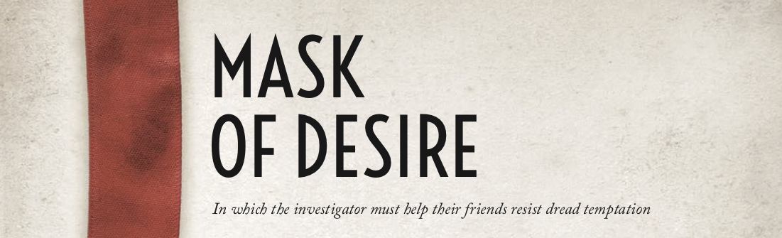 Mask of Desire header