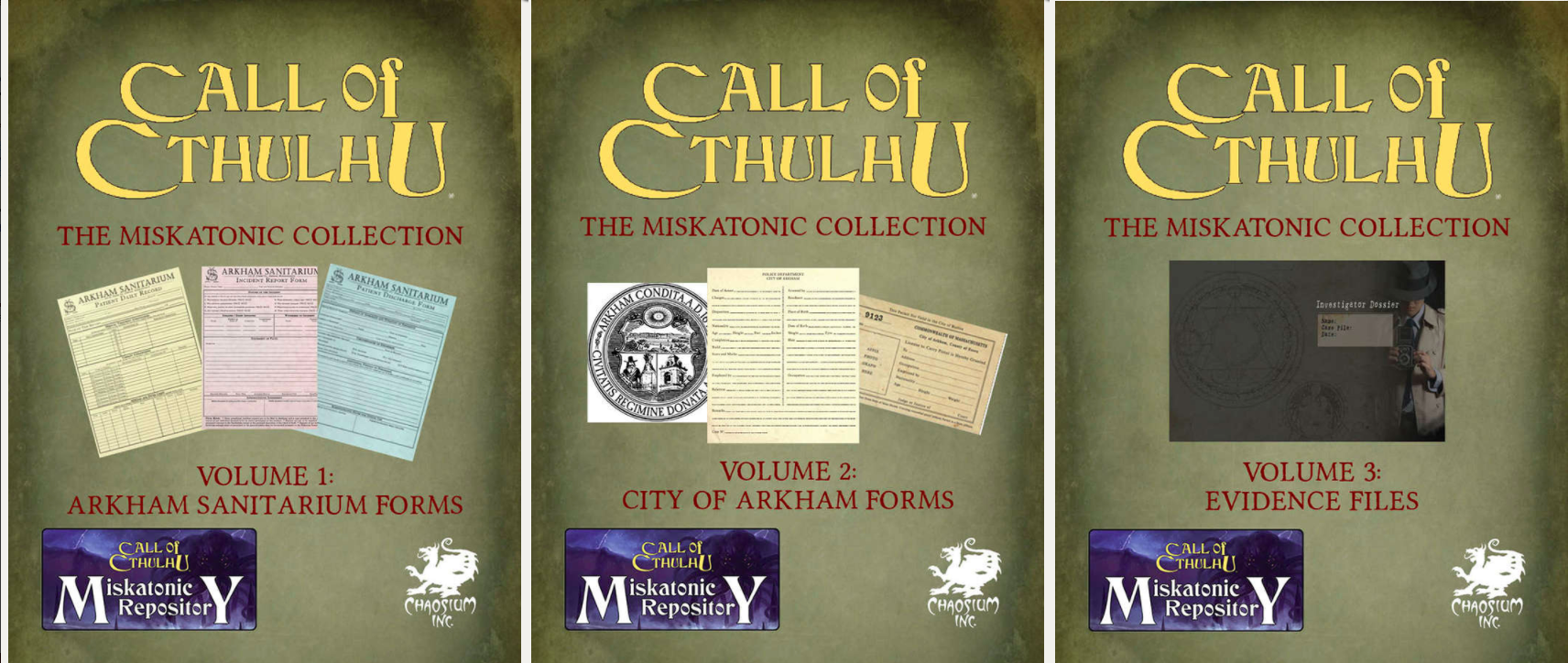 Miskatonic Collection