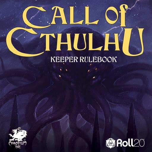 Roll20 Call of Cthulhu
