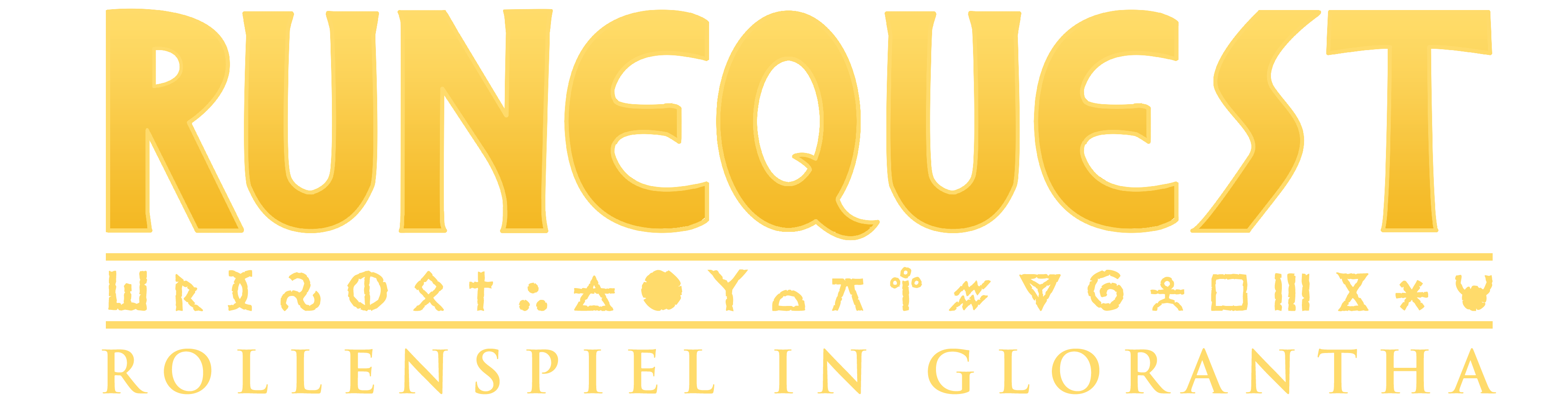 RuneQuest Logo - German