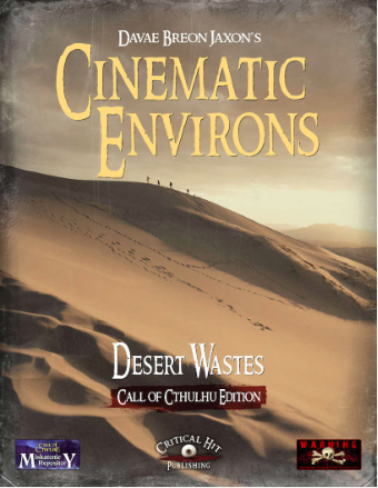 Cinematic Environs: Desert Wastes (Misk R)