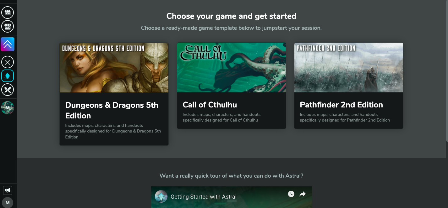 Call of Cthulhu on Astral