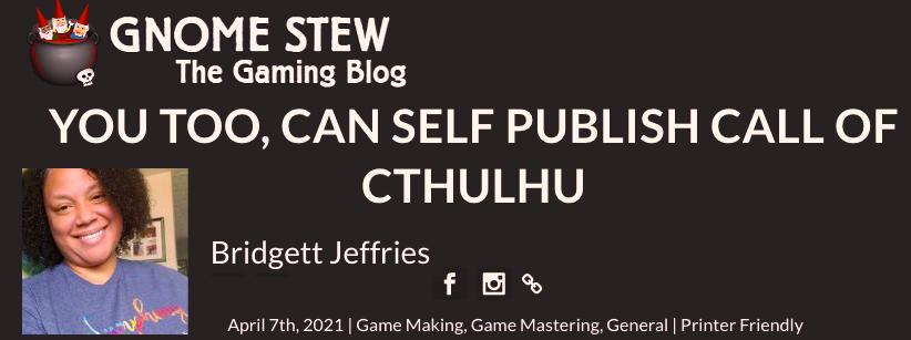 Bridgett Jeffries Gnome Stew Miskatonic Repository article