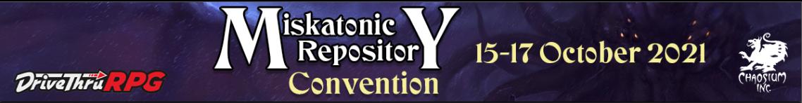 Miskatonic Repository Con 2021