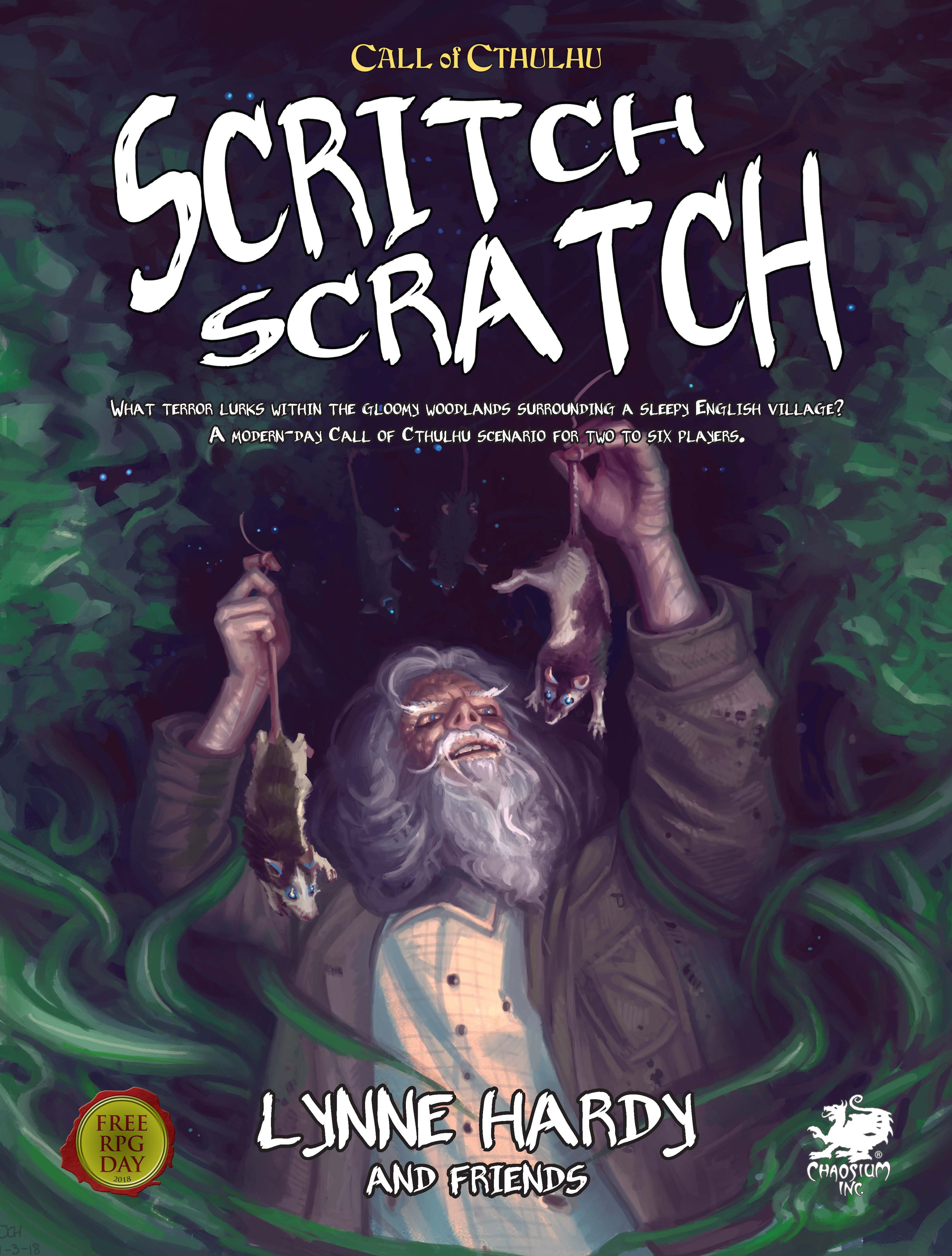 Scritch Scratch by Lynne Hardy