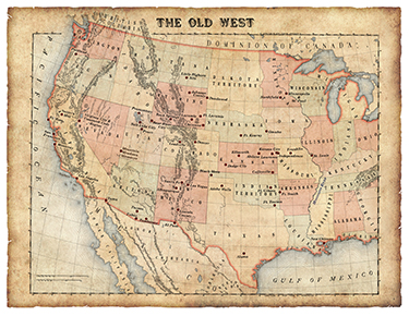 The Wild West Map